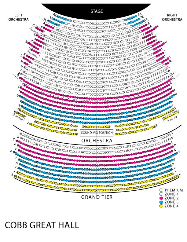 Dance Theatre Of Harlem Wharton Center For Performing Arts. View Seating Map. Seat. Devos Hall Seating Diagram At Scoala.co