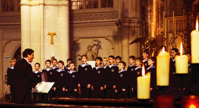 VIENNA BOYS CHOIR: Christmas in Vienna | Wharton Center for ...