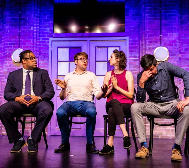 Second City performing An Imperfect Union